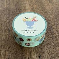 【水縞】マスキングテープ おやつ02