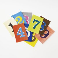 【水縞】ナンバーポストカード